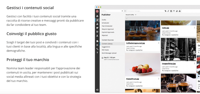hootsuite canali