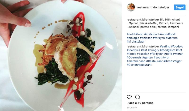 instagram ristorante