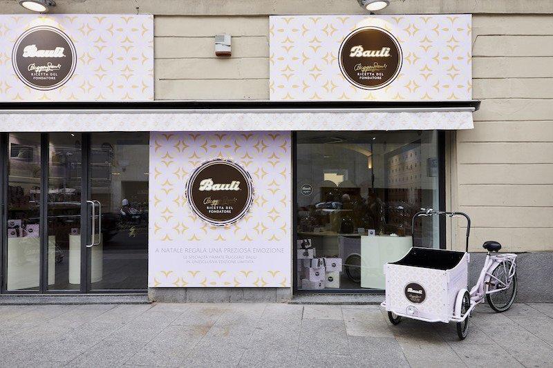 temporary store bauli